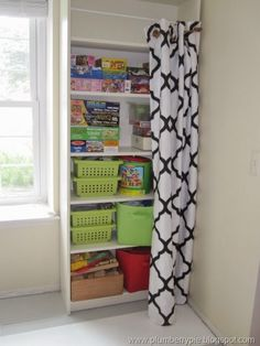 Hiding your shelves. Nice.