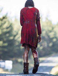 Mia from Evil Dead 2013