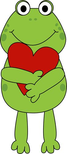 Free valentine clip art images to help you with your Valentine's Day projects. The free valentine clip art here includes hearts, flowers, and cupids. Free Valentine Clip Art, Images For Valentines Day, Frosch Illustration, Cute Illustration, Frog Art, Cute Frogs, Applique Patterns, Art Plastique, Baby Quilts
