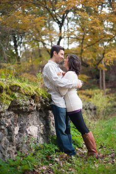 Schenley Park Pittsburgh Engagement Photos