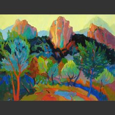 Landscape Oil Paintings | Barbara Zaring artist | Taos, New Mexico