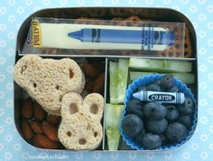 Kindergarten Blue Day Lunchbots bento by anotherlunch.com, via Flickr
