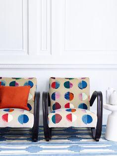 Fabric Love: Olinda by Jane Churchill | The English Room