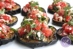 Summer is almost here, so let& get grilling! Whip up this grilled eggplant topped with caprese salsa for a delicious, guilt-free meal! Easy Soup Recipes, Vegetarian Recipes, Healthy Recipes, Healthy Options, Grilled Eggplant Recipes, Grilling Recipes, Cooking Recipes, Grilling Ideas, Eggplant Dishes