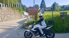 Yamaha xj6 Passo San Boldo