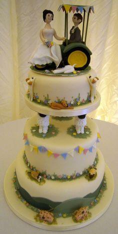 Countryside Wedding Cake