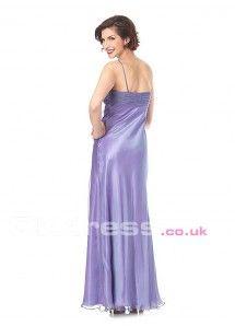 Sleeveless Empire Floor-Length Sequin Shoulder Strap Homecoming Formal Dresses