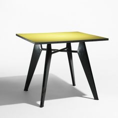 Jean Prouvé, Occasional Table for Ateliers Jean Prouvé, 1960.
