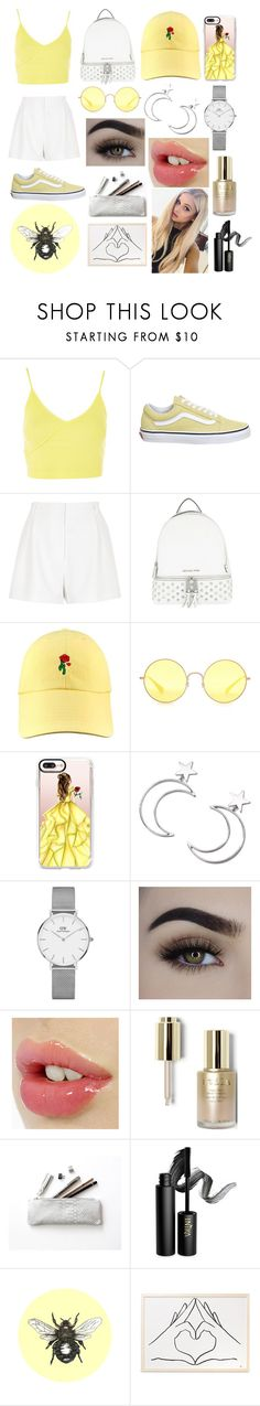 """"""""""" by lustforlife31 on Polyvore featuring Topshop, Vans, River Island, MICHAEL Michael Kors, Ray-Ban, Casetify, Ana Accessories, Daniel Wellington, Stila and INIKA"""