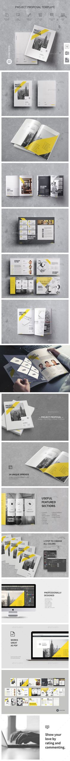 Sugercube InDesign Proposal Template for Business Proposal - proposal of work template