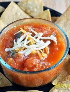 Salsa, Peach salsa and Peaches on Pinterest
