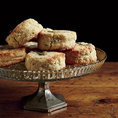 These tender, fragrant scones are especially easy to make because you roll the dough into a log, then slice.