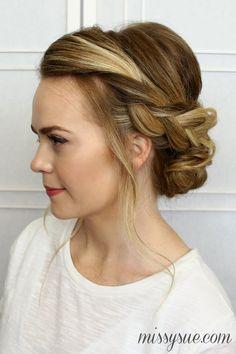 Astounding Updo Wedding And Braids On Pinterest Short Hairstyles Gunalazisus