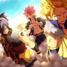 Natsu, Rogue et Sting - Fairy Tail