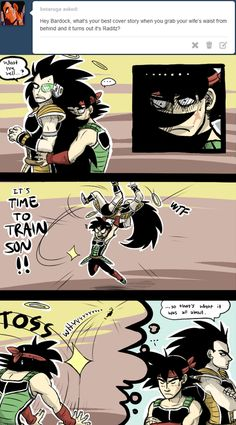 DBZ Bardock mistakes Raditz for his wife Gine Dbz, Dbz Memes, Dragon Ball Z Shirt, Funny Dragon, Dbz Characters, Dragon Images, Anime Shows, Manga Anime, Psycho Pass