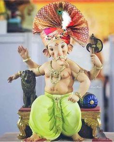 paintings: Top 20 Lord Ganesha Images To Dawnload For Free Ganesh Chaturthi Decoration, Happy Ganesh Chaturthi Images, Shri Ganesh Images, Ganesha Pictures, Ganesh Idol, Ganesha Art, Ganesh Photo, Baby Ganesha, Ganesh Lord