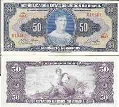 BRASIL - CEDULA ANO 1959 C 027 PRINCESA ISABEL SÉRIE 645A VALOR DE CATÁLOGO R$ 230 REAIS - PEÇAS EM