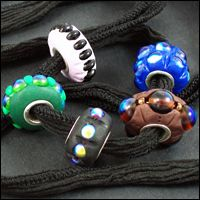 Tutorial Polymer Clay Faux Lampwork Pandora Beads