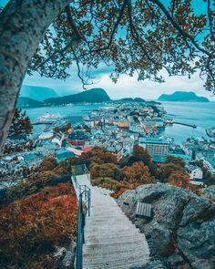 "6,501 Likes, 42 Comments - Mitt Norge (@mittnorge) on Instagram: ""Ålesund, Møre og Romsdal  : @fredrikmwinge"""