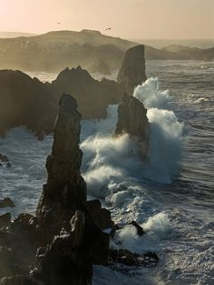 Costa Quebrada, Cantabria, Spain --- Where is this? Oh The Places You'll Go, Places To Travel, Places To Visit, Beautiful World, Beautiful Places, All Nature, Amazing Nature, Spain And Portugal, Adventure Is Out There