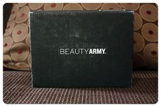 April 2014 Beauty Army: Beauty box reporting for duty! Price: $12/month -- #beauty #beautyarmy #makeup #subscriptionbox #cosmetics #body