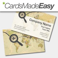 Tourism Business Card