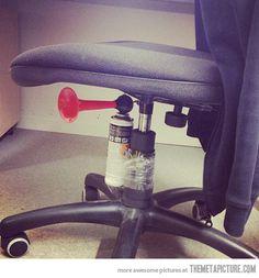 Genius Office Prank…