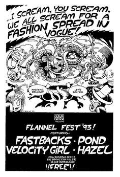 Fastbacks - Pond - Velocity Girl - Hazel