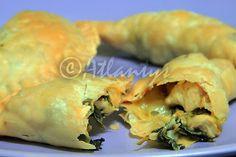 Terapia do Tacho: Pasteis (de sobras) de frango (Chicken leftovers turnovers)