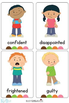 Emotions Full Body Flash Cards – Busy Little Bugs Emotions Preschool, Emotions Activities, Toddler Learning Activities, English Activities, Preschool Activities, Teaching Kids, Kids Learning, Teaching Emotions, Emotions Cards