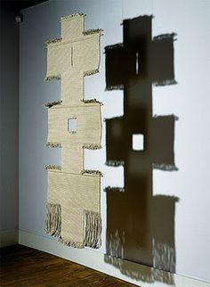 Lenore Tawney | Path II, c. 1965-66 | linen