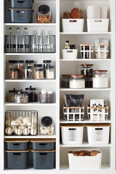 Clever Pantry Organization Ideas – Home Decor Art : Clever Pantry Organi… – Modern Kitchen Organization Pantry, Home Organisation, Pantry Storage, Organizing Ideas, Organized Kitchen, Pantry Shelving, Kitchen Storage, Pantry Diy, Shelving Ideas