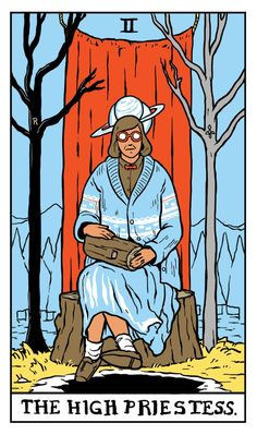 The Log Lady - The High Priestess