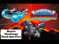 Skylanders Superchargers - Buzz's Challenge: Dark Spit Fire