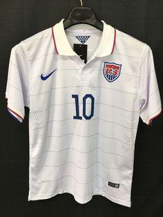 bb9928584 Brand new mens medium nike dri-fit team usa soccer jersey  10 plitz