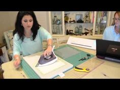 Video Tutorial: Cutting fabrics using Silhouette Cameo and using Embroid...