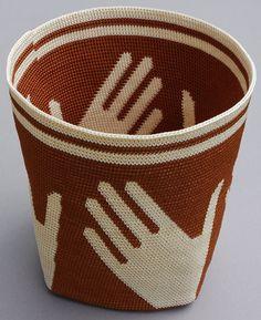 tapestry crochet basket