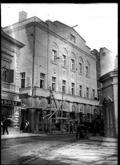 Uzun Mirkova street in 1928