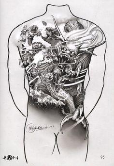 Татуировка Тату Книги Видео Tattoo Books Video   VK Dragon Tattoo Full Back, Full Back Tattoos, Small Tattoos, Tattoos For Guys, Bio Organic Tattoo, Back Piece Tattoo, Tatoo Designs, Demon Tattoo, Dragon Sleeve