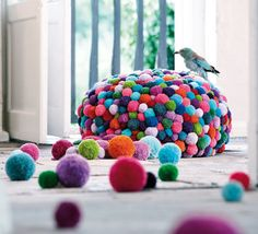 So colorful, soft, playful, yet practical! Love it! Being handmade makes it even more special!