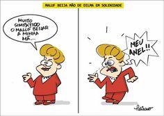cool Maluf beija mão de Dilma
