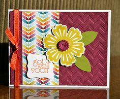 Stampin' Up! Card  by Krystal De Leeuw at Krystal's Cards and More: Delightful Dozen