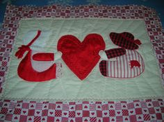 Valentines Wall Hanging!  by Betty oj @ SWN #quilting