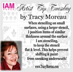 Interactive Artist Magazine Artist Tip Tuesday by amazing artist Tracy Moreau! Subscribe today ~ Creative Inspiration 24/7 http://InteractiveArtistMagazine.org