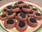 Raw thumbprint cookies