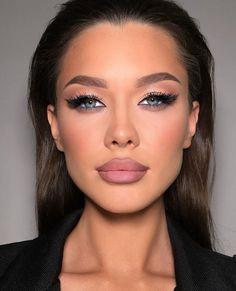 Makeup On Fleek, Kiss Makeup, Glam Makeup, Makeup Cosmetics, Beauty Makeup, Eye Makeup, Hair Makeup, Drugstore Makeup, Unique Makeup