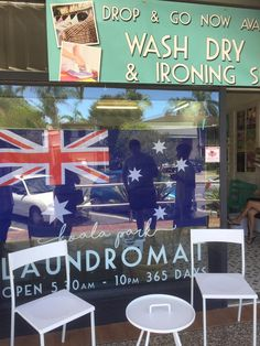 Australia Day at our Gold Coast Laundromat in Burleigh Heads. Coin Change Machine, Australia Day, Gold Coast, Park, Australia Day Date, Parks