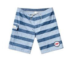 Apolis Chambray Swim Trunks