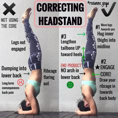 """1,281 curtidas, 41 comentários - ROXANNE GAN (@roxanne_yoga) no Instagram: """". Picture on the left: Core not engaged= dumping on lower back (aka banana back) Picture on the…"""""""