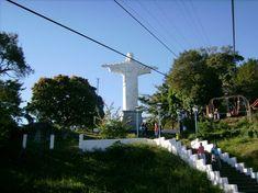 Teleférico e Cristo Redentor de Serra Negra em SP